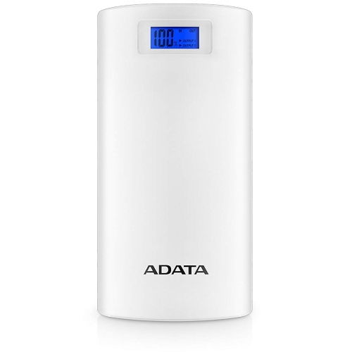 ADATA AP20000D-DGT-5V-CWH Power Bank モバイルバッテリー