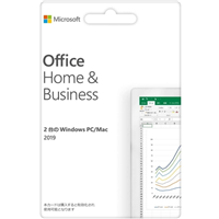 【POSAカード版】Microsoft Office Home & Business 2019 for Windows/Mac